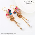 92145 Pendientes colgantes chapados en oro Xuping Jewelry colorful design