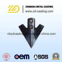 OEM Cheapest Alloy Steel Precision Casting for Agricultural Machinery Plowshare
