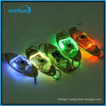 Lumière de pêche sous-marine de chute profonde de 6 cm / 2,4 pouces LED