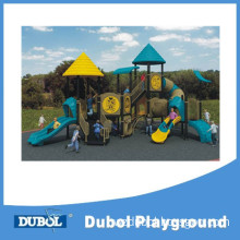 Commerical Kids Plastic Slide Outdoor Playground Equipment
