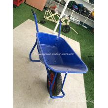 Carrinho de mão de roda de construção resistente