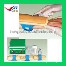 Entrenamiento de inyección intravenosa avanzado pad modelo de entrenamiento de venopuntura de antebrazo