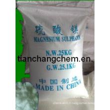 Sulfate de magnésium, teneur en engrais de Kieserite