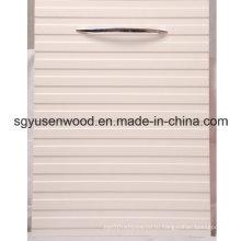 ПВХ меламина UV кухня двери шкафа для кухни