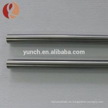 precio de la barra de metal puro de titanio de industria de grado 2 por kg