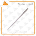 Eco-friendly Titanium Toothpick Different Kinds of Toothpicks