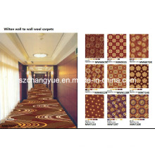Machine Woven Wilton Wall to Wall PP Tapis d'hôtel pour le couloir