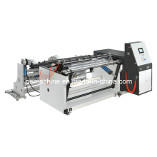Btm-B série automática de corte e rebobinamento máquina (com rebobinador único).