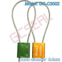 Trava de cabo de alta segurança