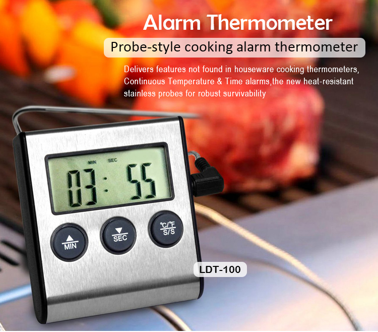 Ldt 100 Meat Thermometer Specification 1