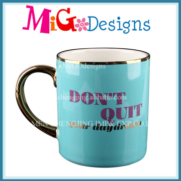 Electroplating Ceramic Mugs with Handle