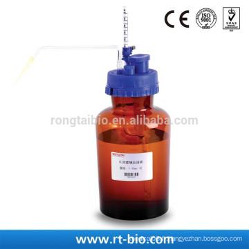 Rongtaibio Distributeur de bouteille en verre ambre 1-10ml