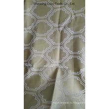 Декоративная ткань с позолотой, украшенная жаккардом