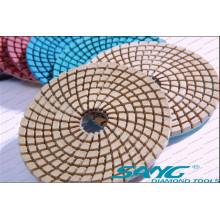 Pie de pulido de piedra de ingeniería para el pulido de mármol de granito (SA-062)