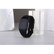 HD touch screen bracelet with heart rate detection