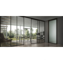 Les fabricants de verre trempé fournissent du verre de construction pour les portes extérieures