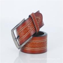 New design genuine leather brand man belt