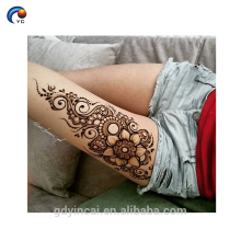 Etiqueta engomada del tatuaje de la henna de la belleza, etiqueta engomada temporal del tatuaje de la tribu de la novia