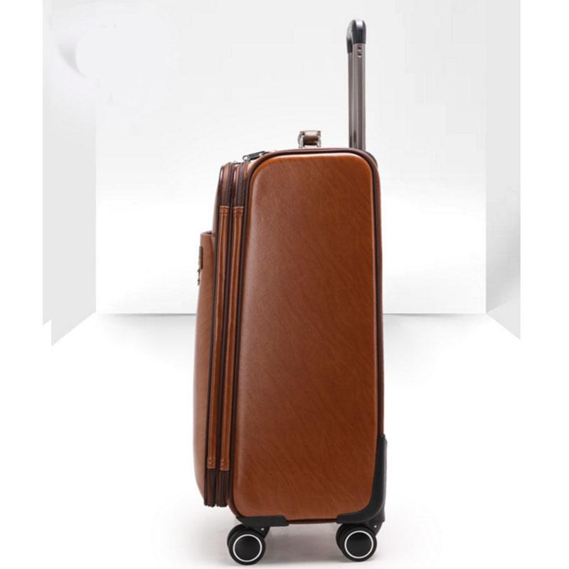 High quality pu luggage