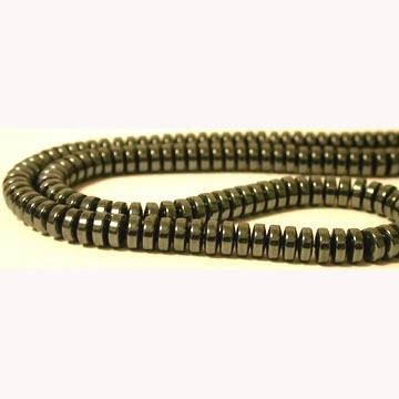 Hematite Disc Beads(Thick) 4MM