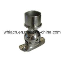 Soporte de barandilla de escalera de acero inoxidable para accesorios de vidrio (50.8mm)