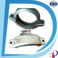 """6"""" Grooved Pipe Victaulic Style Joint Coupling Clamp with Gasket"""