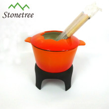 Emaille Gusseisen l Fondue