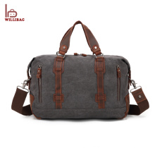 Retro Vintage Weekend Gym Travel Bag Canvas Duffel Bag