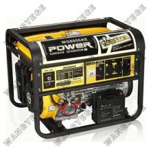Benzin-Generator mit WE190F-WE190FE-Motor und großen Schalldämpfer