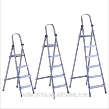 Household Delicate Folding Indoor ladder Portable Aluminum Wide Step Ladder