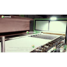 Interior Decoration Light Weight Mineral Fiber Ceiling Board Production Line