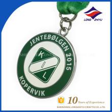 Kopervik nova medalha personalizada, medalhas de metal nenhuma ordem mínima