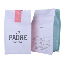 Kraft Paper Aluminium Foil Coffee Beans Packaging Bags