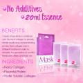 Private Custom Anti-Aging Anti-Wrinkle Brightening Collagen Facial Mask Sheet Skin Care