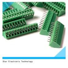 Couleur verte de bloc terminal de vis de bâti de carte PCB de Pin de poteau en nylon 12