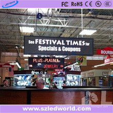 P6 farbenreiche Indoor hängen LED-Anzeige Message Board