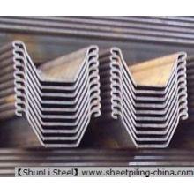 Cold Formed Steel Sheet Pile