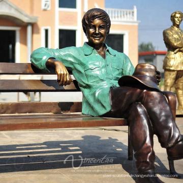 Benutzerdefinierte Reproduktion Outdoor Life Size Bronze Skulptur