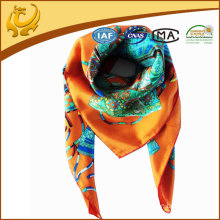 wholesale new twill silk scarf 90*90