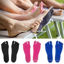 Unisex Outdoor Sticker Shoes Stick on Soles Sticky Yoga Pads for Feet