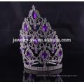 Accesorios de pelo venta al por mayor china big rhinestone pageant crowns