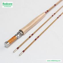 7ft6in 3wt Splitted Tonkin bambu Fly Rod