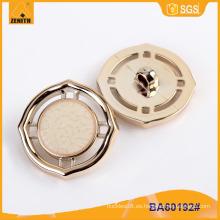 Diseño de moda UV Plating Botón de plástico BA60192