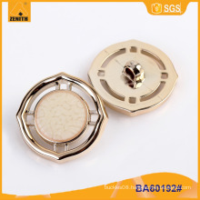 Fashion Design UV Plating Plastic Button BA60192