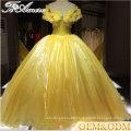 Fairy tale Princess dress style 2017 factory price custom ball gown wedding dress