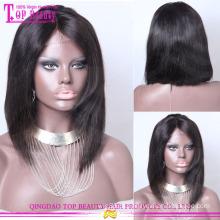 Grande estoque top beleza peruca Vigin brasileira cabelo humano duas tonificado Bob perucas