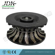 Type de segment Boutons de routeur de diamant pour le profilage de bordure de dalle de granit
