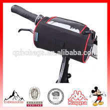 Imperméable à l'eau Vélo Vélo Pliant Vélo Avant Guidon Sac Panier Transparent PVC Poche pour Carte En Plein Air