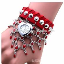 Montres à crémaillère rétro à la mode en cuir et à la mode montres BWL041