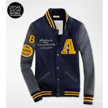 Custom Sport Patch Embroidery Baseball Jacket